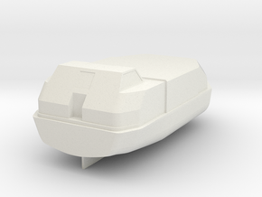 1/200 scale Lifeboat for Passenger ships in White Natural Versatile Plastic