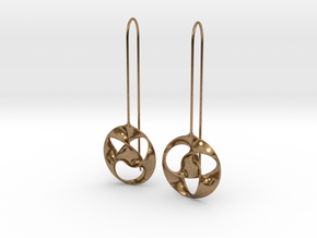 i-Lens Trefoil in Natural Brass
