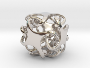 Hexatron Pendant in Platinum