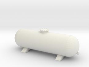 LPG Gas Tank 1/35 in White Natural Versatile Plastic