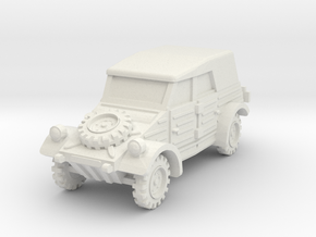 Kubelwagen (covered) 1/100 in White Natural Versatile Plastic