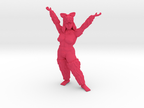 Wolf Shaye Raised Hands in Pink Processed Versatile Plastic