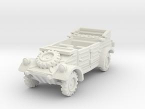 Kubelwagen (open) 1/64 in White Natural Versatile Plastic