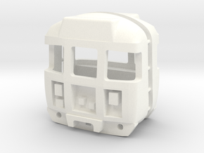 OO Scale Class 310 Cabs in White Processed Versatile Plastic