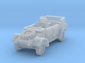Kubelwagen Radio Car 1/200 in Smooth Fine Detail Plastic