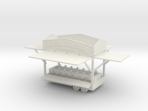 Water Game Trailer in White Natural Versatile Plastic