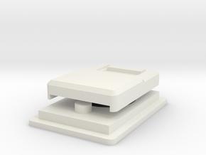 Mandalorian Shoulder Sling Clip Set  in White Natural Versatile Plastic