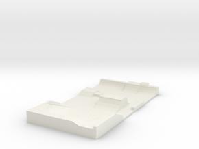 Skatepark 1/200 in White Natural Versatile Plastic