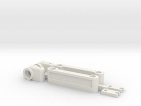 BRM Alpine A110 Karosseriehalter Transkit Body Sup in White Natural Versatile Plastic