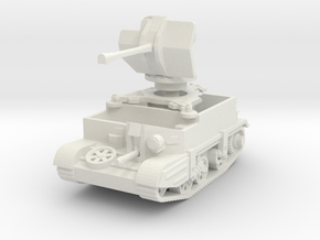 Universal Carrier Flak 38 1/76 in White Natural Versatile Plastic