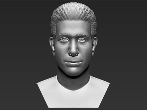 Ross Geller bust in White Natural Versatile Plastic
