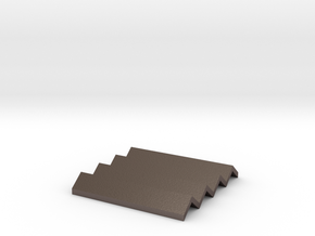 Concertina Coaster/heatproof Mat/soap dish in Stainless Steel