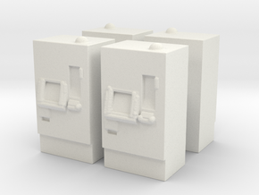 ATM Machine (x4) 1/100 in White Natural Versatile Plastic