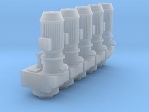 Harvestore unloader-unit_xl200v2_pack_x5 in Smooth Fine Detail Plastic