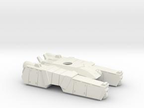 1/144 Centaur A4 Tank body  in White Natural Versatile Plastic