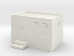 Machine Control Room 1/100 in White Natural Versatile Plastic