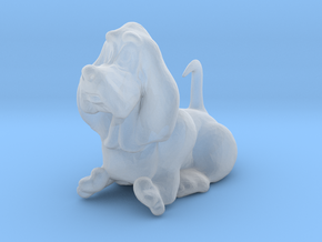 O Scale Comical Basset Hound in Smooth Fine Detail Plastic