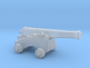 S Scale Pirate Cannon in Smooth Fine Detail Plastic