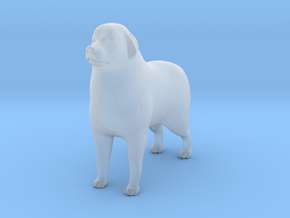 O Scale Great Pyrenees in Smooth Fine Detail Plastic