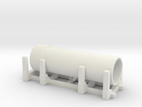 Pipe Transport 1/144 in White Natural Versatile Plastic