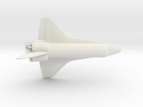 1/350 NASA Space Shuttle Orbiter WSF (3mm Hollowed in White Natural Versatile Plastic