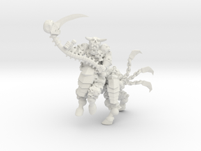 Character Series: Centaur Reaper in White Natural Versatile Plastic
