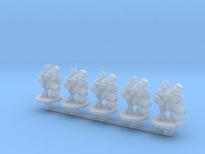 Starcraft Tauren Marines Epic Infantry micro scifi in Smooth Fine Detail Plastic