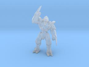 Starcraft Zealot miniature games rpg scifi DnD in Smooth Fine Detail Plastic