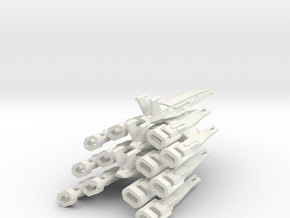 Nomad-D II  Squadron (3) in White Strong & Flexible