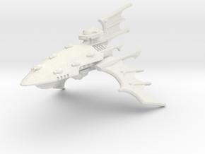 Crucero clase Sombra in White Natural Versatile Plastic
