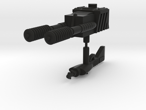 Lasertech Weapons in Black Natural Versatile Plastic: Large