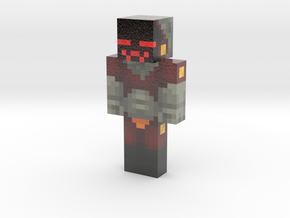 RealRetroBot | Minecraft toy in Glossy Full Color Sandstone