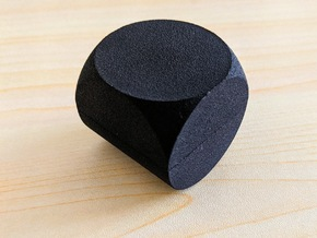 Rocking Ring Box in Black Natural Versatile Plastic