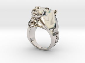 Lion Ring - iXi Design - Fashion Rings - Size 7 in Platinum