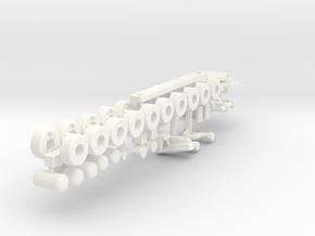 Crew Supplier, Details  (RC, 1:200) in White Processed Versatile Plastic