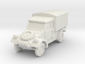 Kubelwagen Type 28 1/100 in White Natural Versatile Plastic
