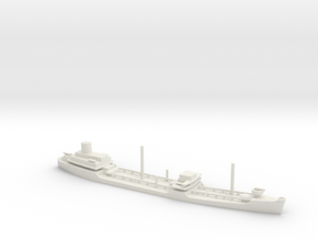 1/700 Scale Suamico Class T-2 Oiler in White Natural Versatile Plastic