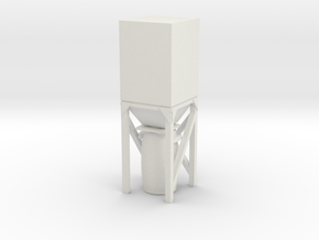 Dust Collector Bin 1/24 in White Natural Versatile Plastic