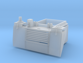 Riverine Command Boat Engine Compartment Access in Smoothest Fine Detail Plastic