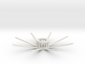 VERTIGO - Gondola (x1) in White Natural Versatile Plastic