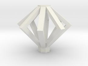 VERTIGO - Top - No Lights (x1) in White Natural Versatile Plastic
