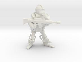 Imperium Guardian in White Natural Versatile Plastic