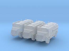 AEC Dorchester 4x4 LP early (x3) 1/285 in Smooth Fine Detail Plastic