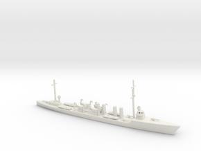 1/700 Scale USS Allen (Sampson Class) DD-66 in White Natural Versatile Plastic