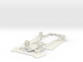 Chassis for SRC Lola T600 in White Natural Versatile Plastic