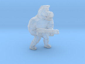 Pigcop Classic2 miniature for games rpg scifi DnD in Smooth Fine Detail Plastic
