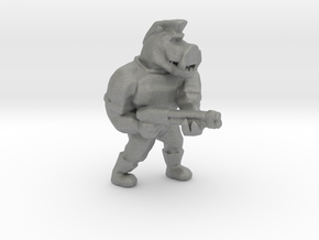 Pigcop Classic2 miniature for games rpg scifi DnD in Gray PA12
