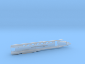 G550-144Scale-Detailed-02-Airframe-left in Smooth Fine Detail Plastic