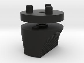 Emek/Etha 2 Bolt Cap - VANQ-ISH in Black Natural Versatile Plastic