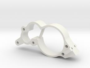 JaBird RC Forward Transmission Dust Cover in White Natural Versatile Plastic